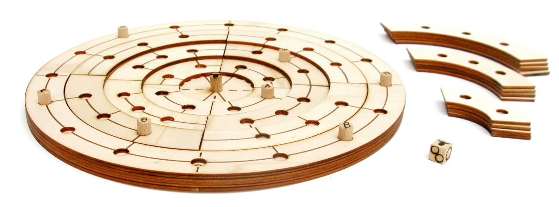 Juego de mesa Labyro en juego
