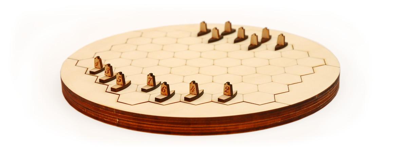 Sailer naval strategy board game